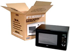 TV/Microwave Box