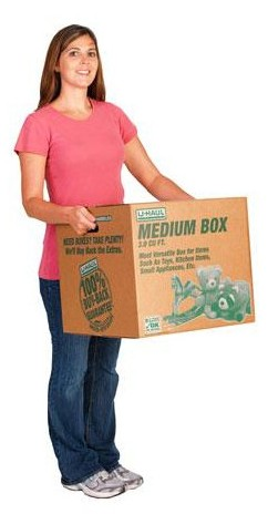 Medium Moving Box