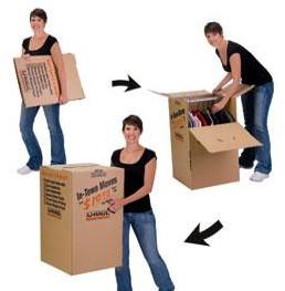EZ Wardrobe Box