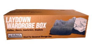 Laydown Wardrobe Box