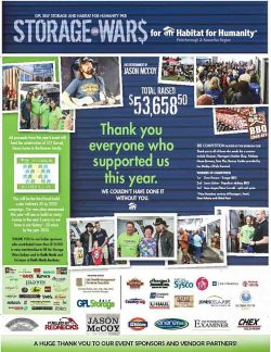 Storage Wars for Humanity 2015 Raised over $50,000