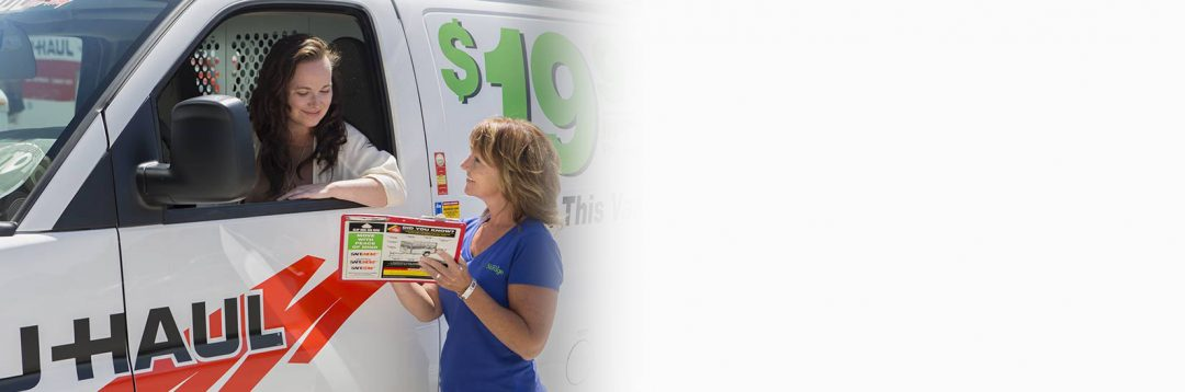 We Rent U-Haul Trucks & Trailers