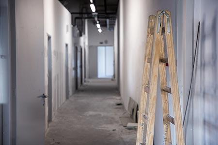 Construction at GPLSS